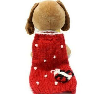 Max's Closet Other - Max's Closet Size 10 Red Acrylic Pet Sweater
